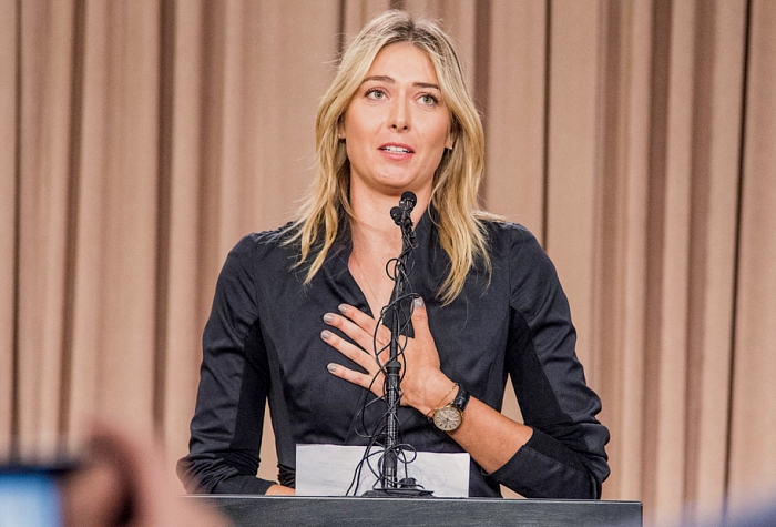 Maria Sharapova press conference